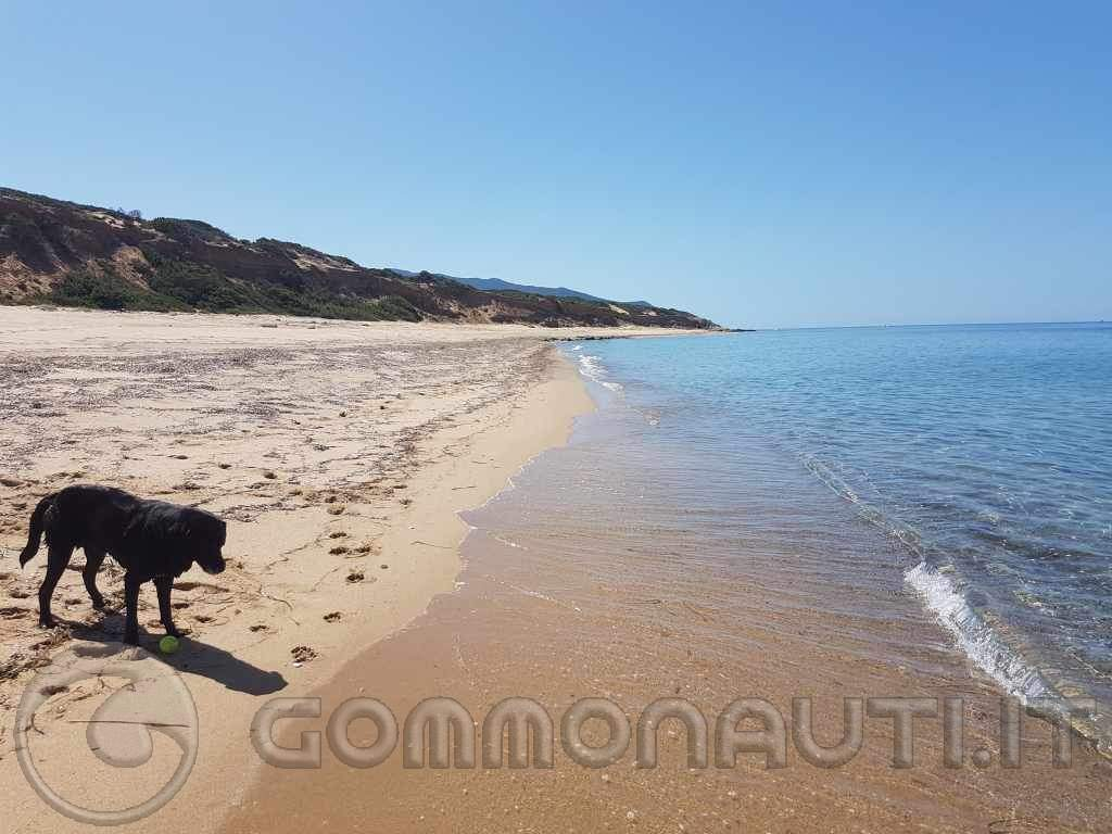 Buggerru costa sud ovest della sardegna Agosto 2019