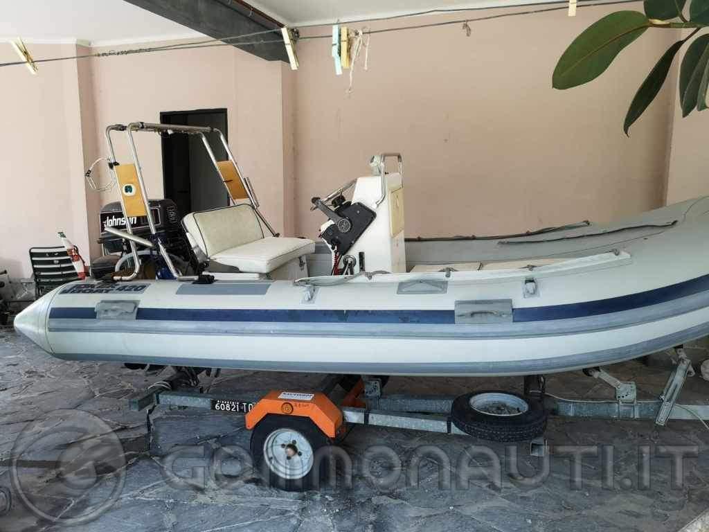 Vendo Gommone Joker boat 420 + johnson 521 (Sestri Levante GE)