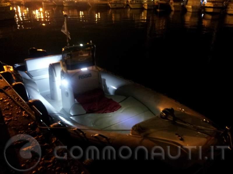 Luci A Led Per Barche.Illuminazione Interna Del Gommone