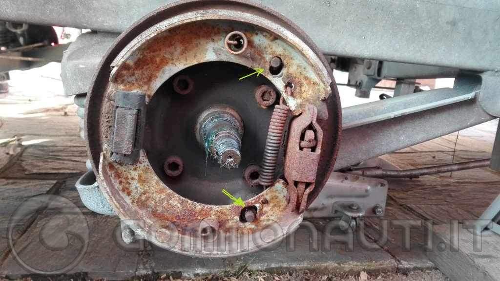 Carrello Ellebi LBN 1520 funzionamento sblocco automatico freni per retromarcia