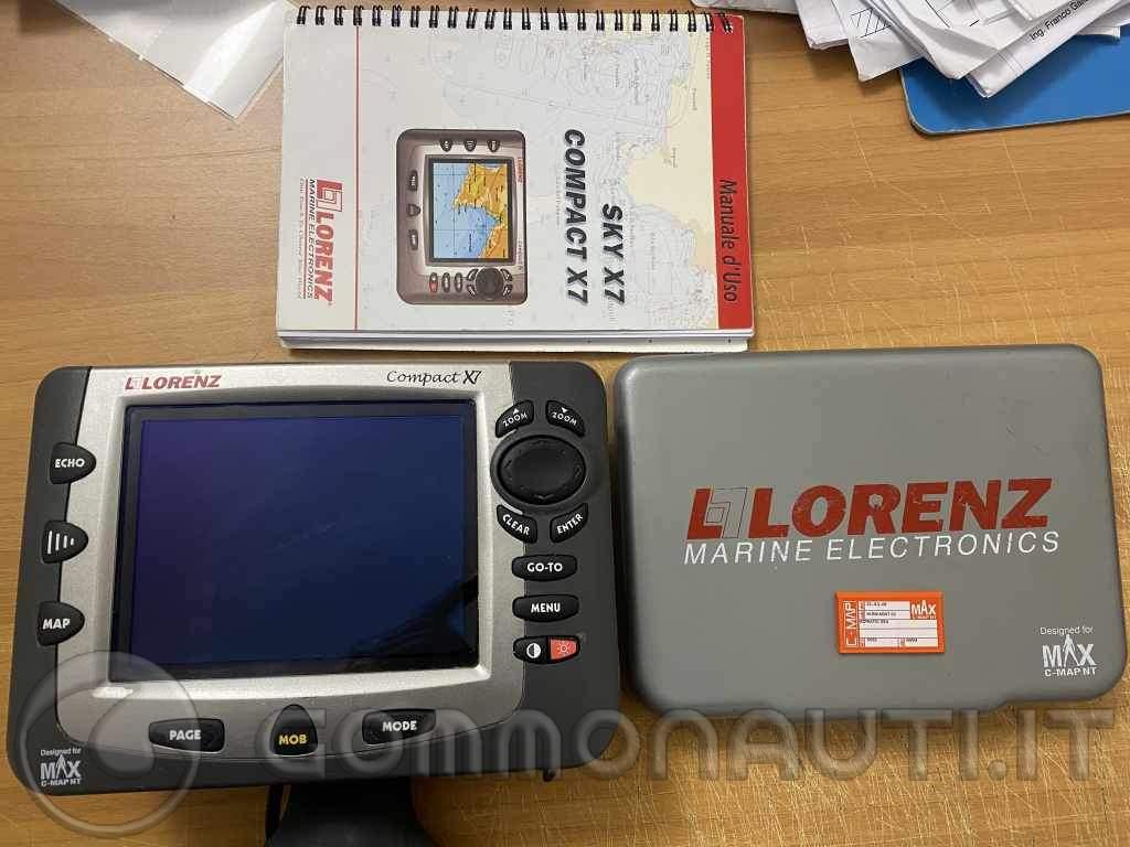 GPS Cartografico Lorenz Compact X7