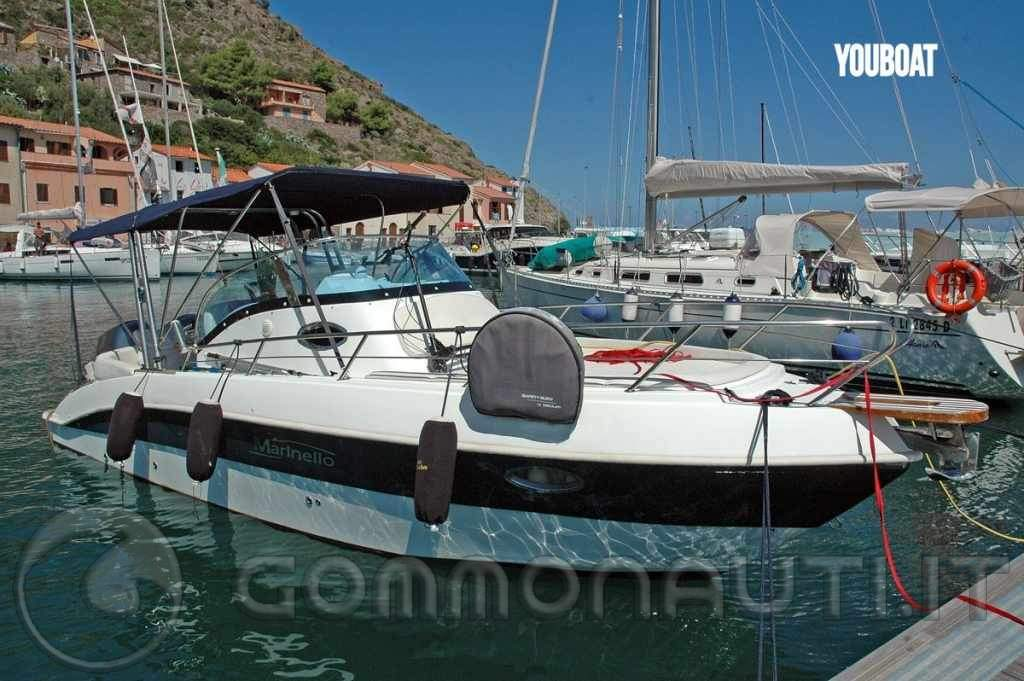 Marinello 25 e Susuki250 o Marinello 26 e Mercury Verado 300