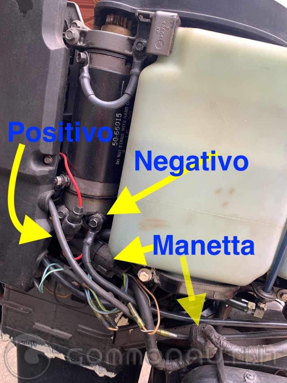 re: Motore Mariner 90 cv 2 tempi - Elettronica e impianto elettrico