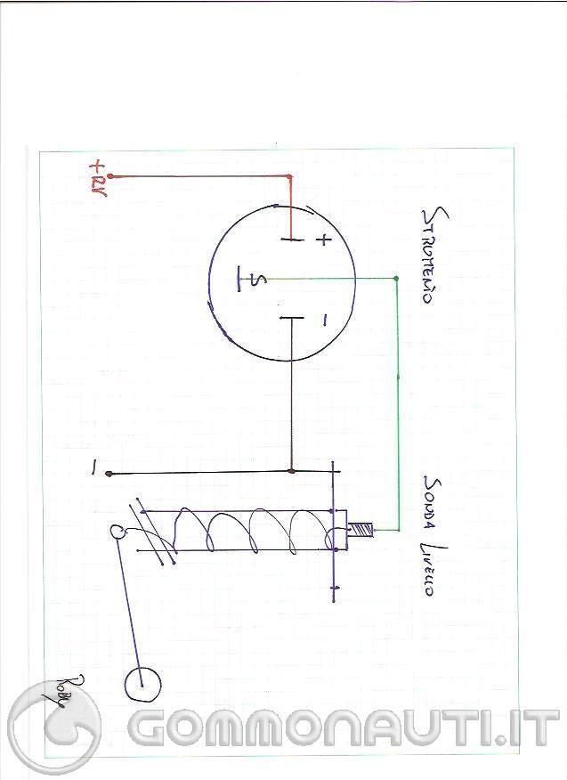 Agganciare il disegno per il trasmettitore di livello