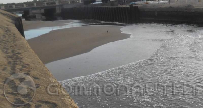 re: Canale dei Pescatori (ostia) insabbiato