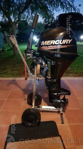 re: Vendo honwave 350 con mercury 9.9 4 tempi