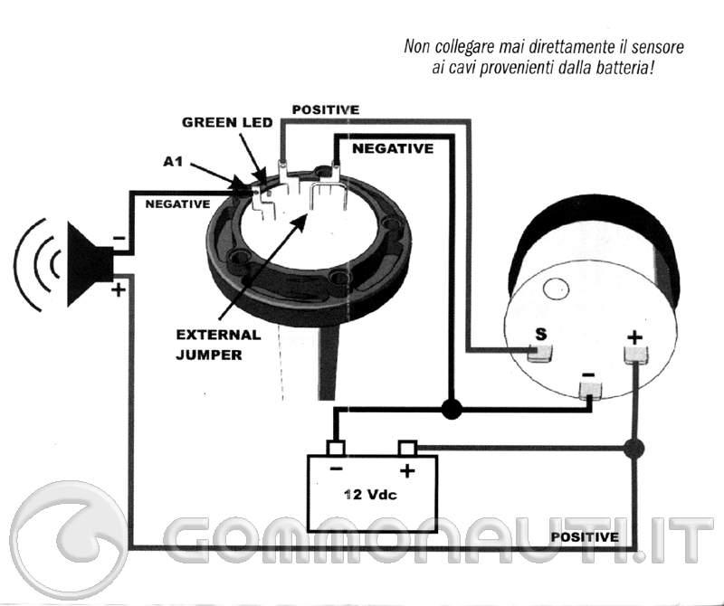 Schema Elettrico Galleggiante Serbatoio : Indicatore di livello carburante pag