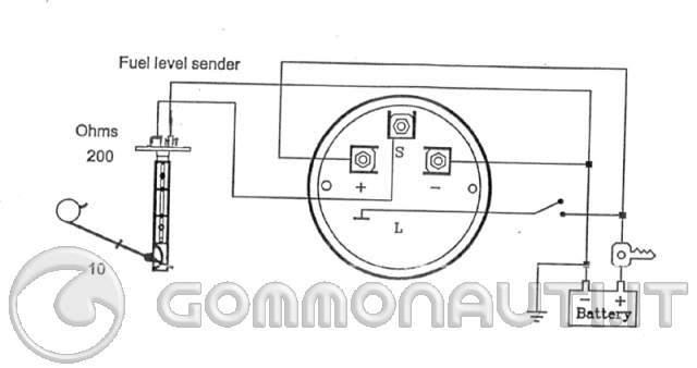 Schema Elettrico Galleggiante Serbatoio : Impianto serbatoio