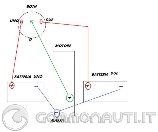 Schema Elettrico Per Deviatore : Come collegare deviatore osculati a singola batteria pag