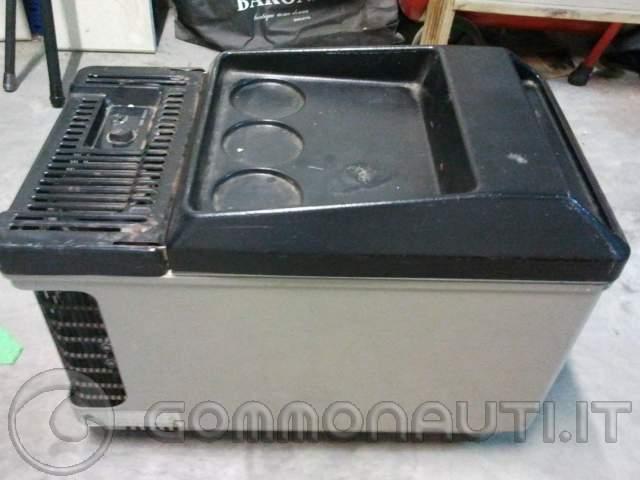 Frigo portatile a compressore usato colonna porta lavatrice for Mini frigo usato