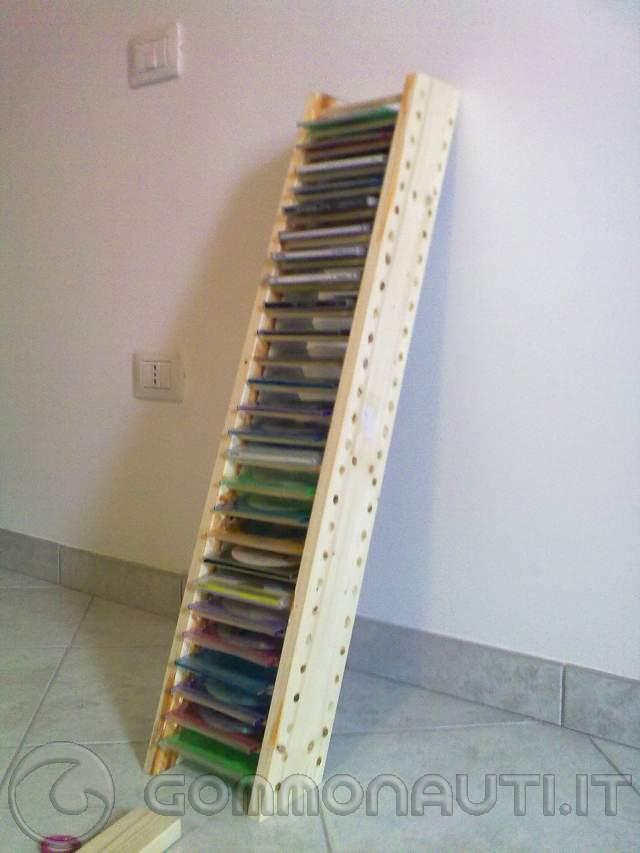 Porta cd in legno fai da te for Spranga per porta fai da te