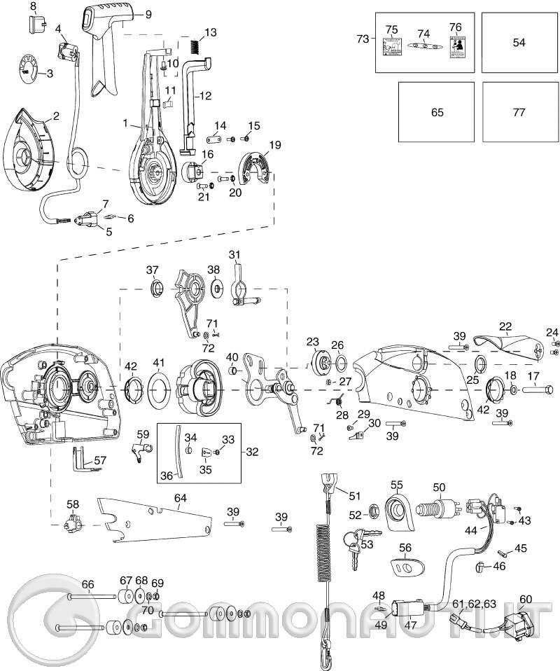 Schema Elettrico Johnson : Schema elettrico johnson modifica trim vendo