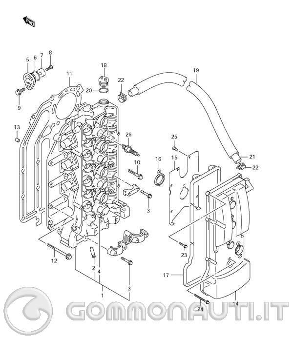 ispezione  sostituzione anodi posti sul motore df115 4t suzuki