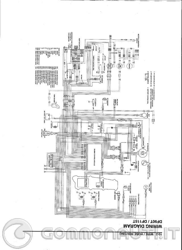 Schema Impianto Elettrico Suzuki Jimny : Quesito collegamento cablaggio motore suzuki da risolvere