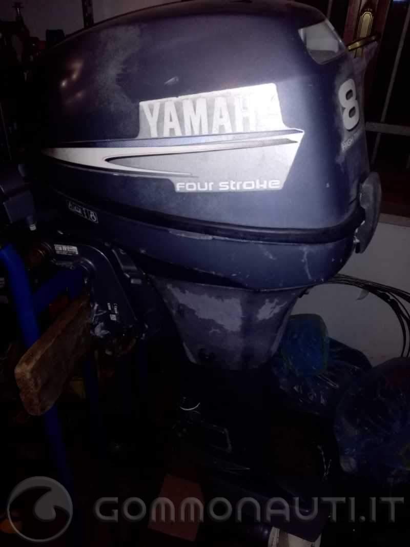 Motore yamaha 8cv - high trust - non funzionante