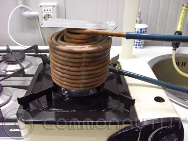 Scalda acqua fai da te for Isolamento del tubo di rame dell acqua calda