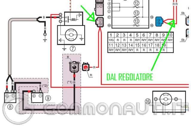 Schema Elettrico Ripartitore Di Carica : Ripartitore di carica per più batterie pag