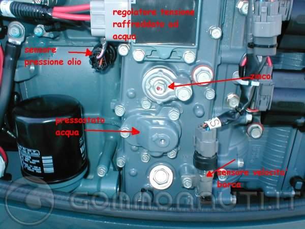 Schema Elettrico Yamaha Ttr : Manutenzione yamaha hp tempi