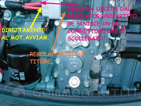 Schema Elettrico Yamaha Ttr : Impianto elettrico yamaha batterie