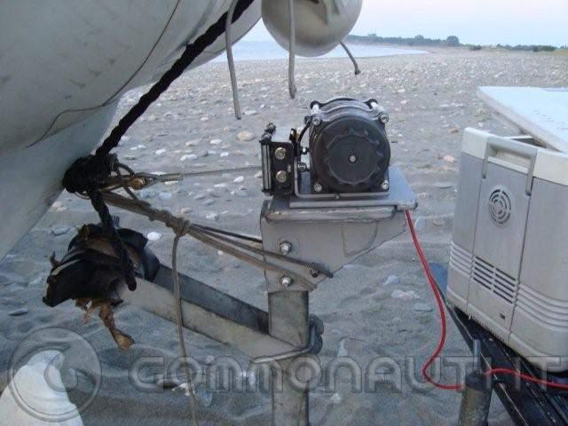 Verricello elettrico fai da te pannelli termoisolanti for Sifone elettrico per acquario fai da te