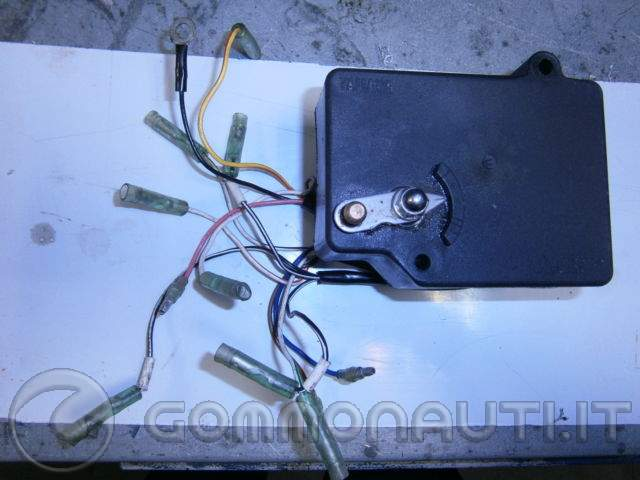 Schema Elettrico Yamaha Top : Sblocco trim elettrico yamaha top pag